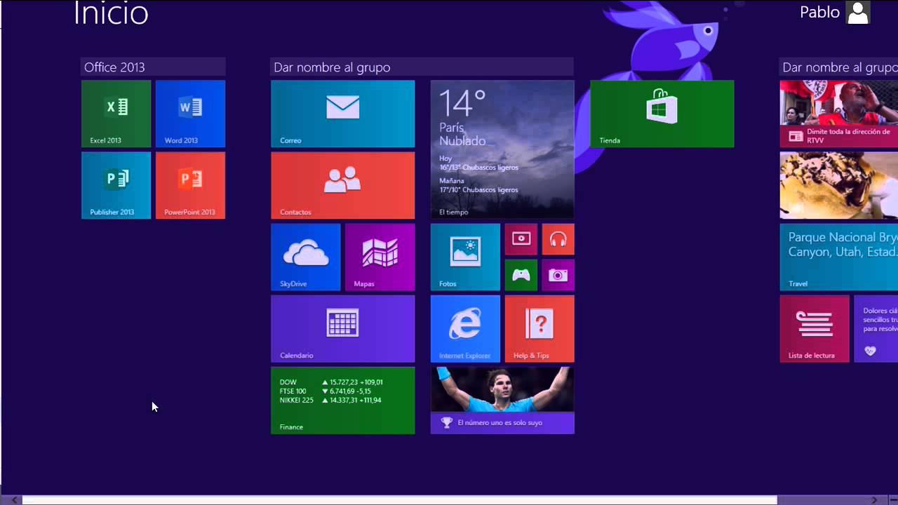 Windows 8 1 - Recuperar el icono de acceso al escritorio en la Start ...