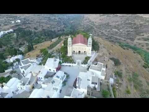 Lefkes village, Paros island, Greece