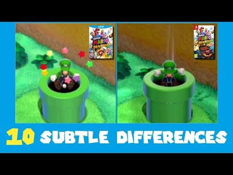 Download 10 Subtle Differences between Super Mario 3D World for Switch and Wii U