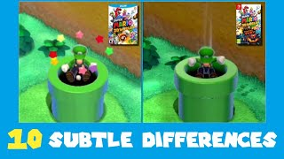 10 Subtle Differences between Super Mario 3D World for Switch and Wii U