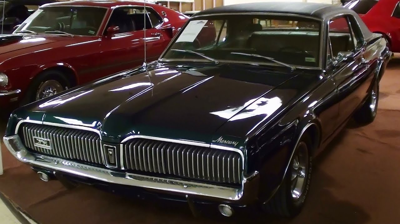 1967 Mercury Cougar Xr7 289 V8 50xxx Actual Miles Youtube