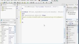 Программирование в Delphi lesson 2.2 (Кнопки; Объект Memo)