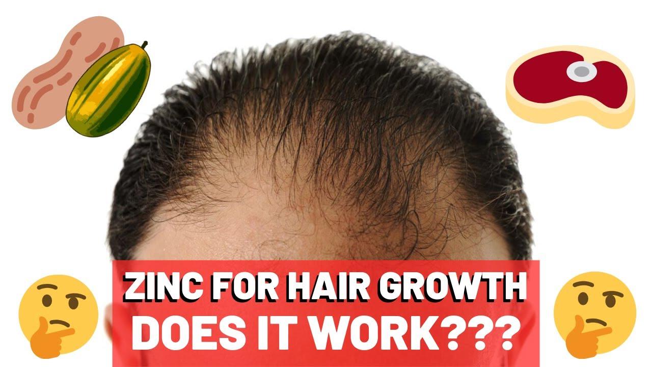 Zinc for hair growth