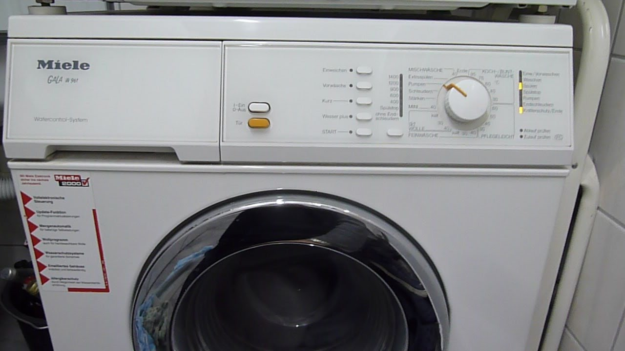 Miele Wmb Miele W1 Washing Machine Manual Product Types At A Glance Miele