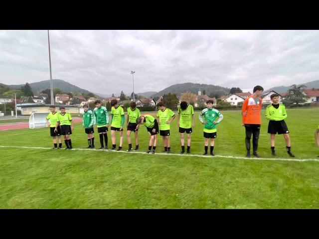 Décrassage U15 vs FC Thann