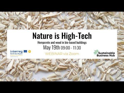 Hempcrete and wood in bio-based buildings