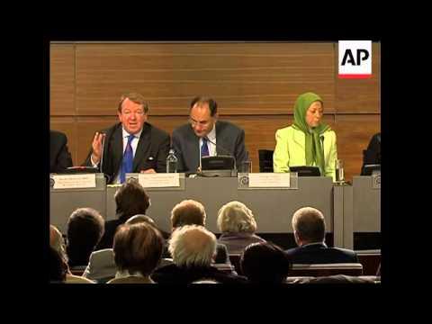 Iranian opposition group celebrates EU
