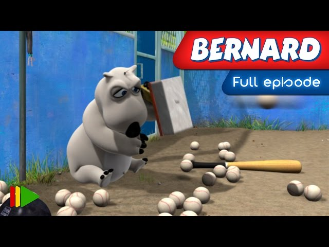 Bernard Bear - 25 - Baseball