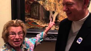 Dr Ruth on the Shady Ladies of the Metropolitan Museum Walking Tour