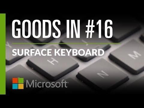 The Beautiful Microsoft Surface Keyboard