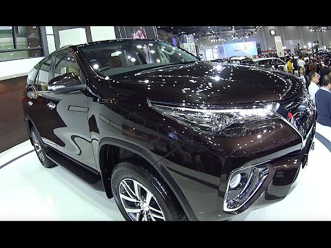 2016 2017 Suvs Toyota New Fortuner Compare Models