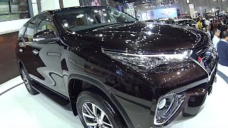 2016, 2017 SUVs Toyota, new Toyota Fortuner Compare models