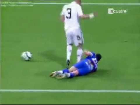 Fallo di Pepe Real Madrid - Getafe Espulsione del difensiore delle merengues