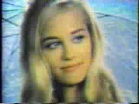 Cybill Sheperd 1969 Commercial