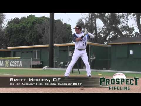 Brett Morien Prospect Video, OF, Bishop Alemany High School Class of 2017