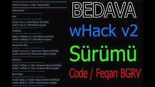 Cs 1.6 - EFSANE HİLESİ wHack V2 Sürümü Aim Wall Ve s. Hileleri - CS 1.6