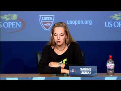 2011 US Open Press Conferences: Sabine Lisicki (Third Round)