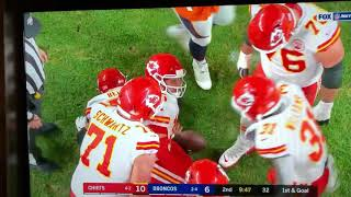 Patrick Mahomes Kansas City Chiefs Scary Knee Injury Vs Broncos