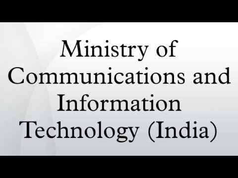 Ministry of Communications and Information Technology (India)
