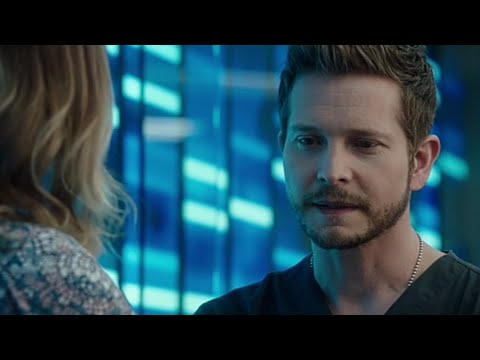 Conrad talking about his past to Nic scene - The Resident season 4 episode 7