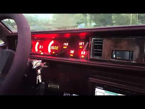 Digital dash in the cutlass