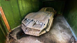 Откопали гараж спустя 13 лет. Спорткар в пыли!