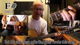 ELTON JOHN - YOUR SONG. Acoustic GUITAR Tutorial with Chords and lyrics