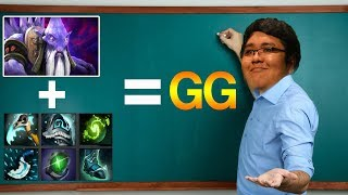 HOW TO A SUP IN A BALANCED RANKED By EL Prosor SmAsH 9.6 11K MODE - Dota 2