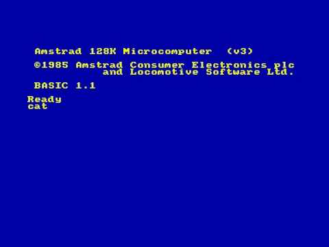 How to load & run Amstrad CPC files