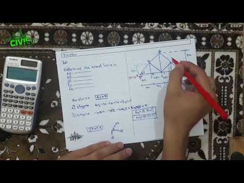 Structural Analysis 1 || Truss