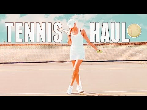 TENNIS HAUL 🎾 Tennis Haul Try On 🎾 Tennis Clothing Haul 🎾 Tennis Outfits 🎾 tennis 2019