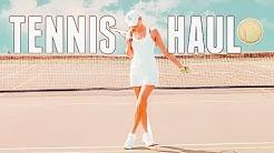 TENNIS HAUL 🎾 Tennis Haul Try On 🎾 Tennis Clothing Haul 🎾 Tennis Outfits 🎾 tennis 2019