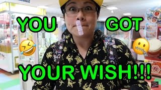 YOU GOT YOUR WISH!!!