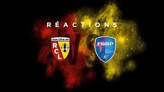 Les réactions après Lens - Bourg-en-Bresse