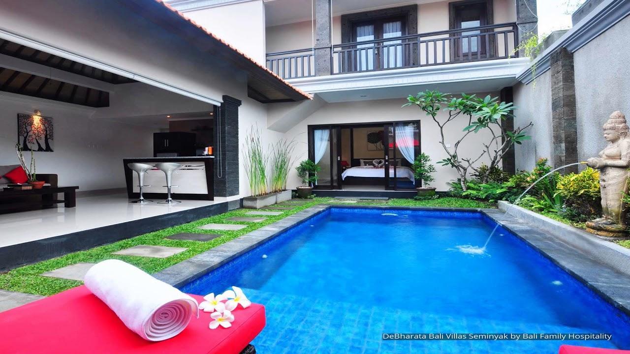 De Bharata Bali Villas Seminyak By Bali Family Hospitality Youtube