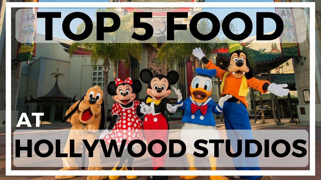 Top 5 Food Restaurants Quick Service At Disneys Hollywood Studios Planning Vlogs 2016 Krispysmore