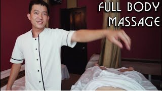 💆 Vietnamese Boy | Full Body Massage with Special Techniques | ASMR video