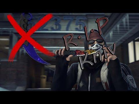 Fak me CS:GO case opening missed knife reaction #1
