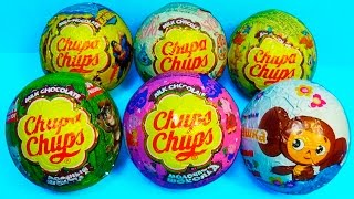 Chupa Chups surprise eggs! Talking TOM Pig Tom and Jerry ANGRY BIRDS Stells mymillionTV