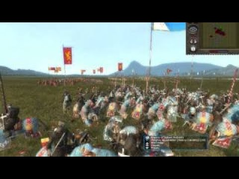 Medieval II: Total War France Vs. England Vs. Holy Roman Empire /w Commentary
