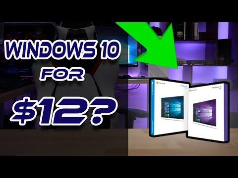 Get Windows 10 Pro For DIRT CHEAP! ONLY $12!!! LEGIT!
