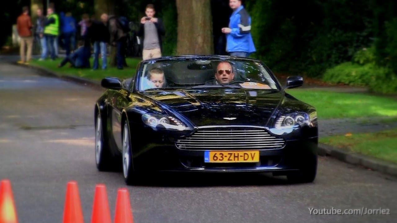 Aston Martin V8 Vantage Db9 Accelerating 1080p Hd Youtube