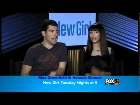 Max Greenfield and Hannah Simone