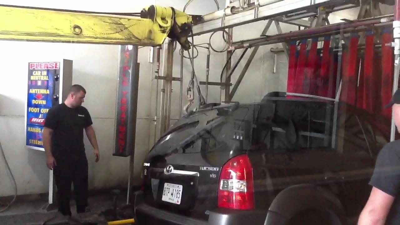 Dolphin car wash