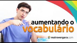 3 exercícios simples para aumentar MUITO o seu vocabulário em inglês | Mairo Vergara