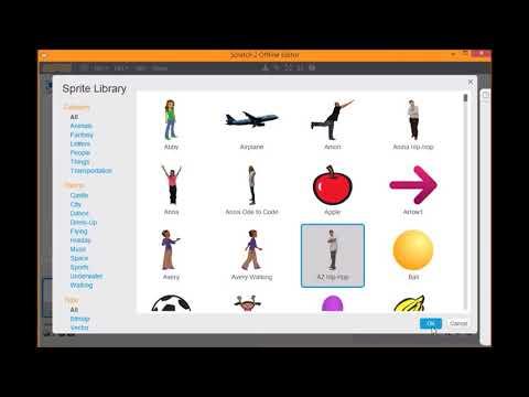 Membuat Program Hello World pada Scratch - Pengenalan Scratch 1