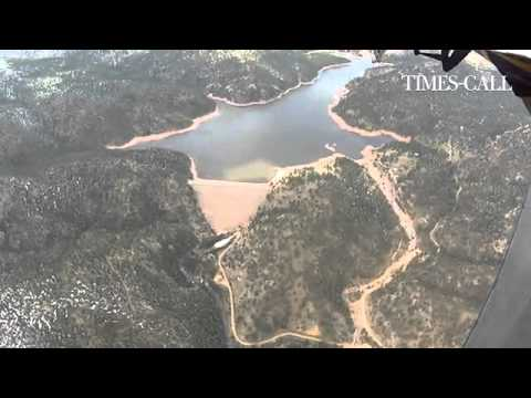 Video: Aerial Views Of #Longmont's Button Rock Dam And Ralph Price Reservoir