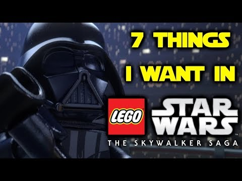 7 Things I Want In Lego Star Wars: The Skywalker Saga