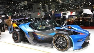 KTM X-BOW GT 2013 Videos