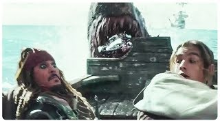 "PIRATES OF THE CARIBBEAN 5 ""Jack Sparrow vs Ghost Shark"" Trailer (2017) Johnny Depp Movie HD"